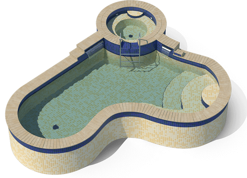 Swimming pool water loss calculator american leak detection - Volume of a swimming pool formula ...