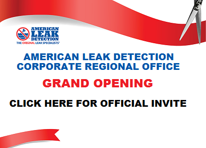 American Leak Detection grand opening invitation